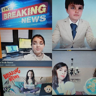 Breaking News EN 3º DE PRIMARIA